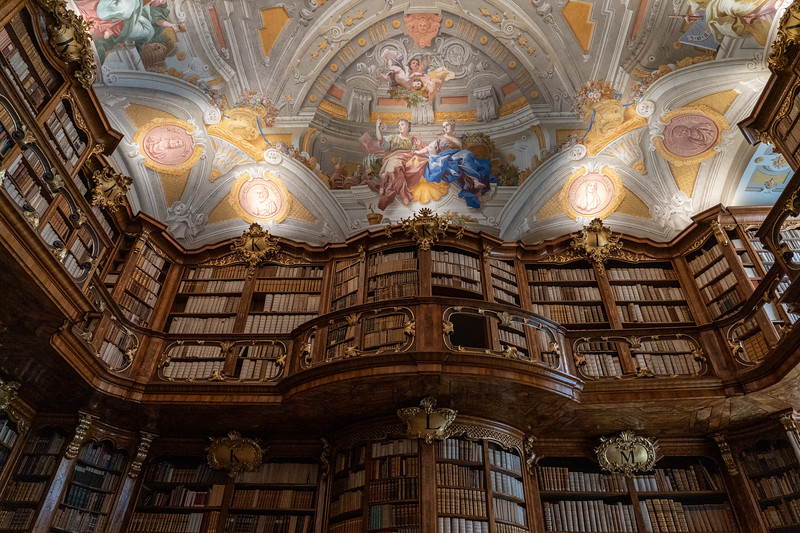St. Florian Monastery library