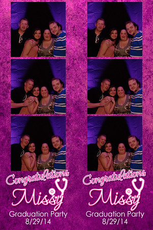 Missy's Graduation Party 8-29-14