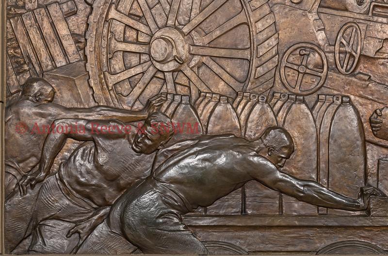Royal Artillery Memorial - detail