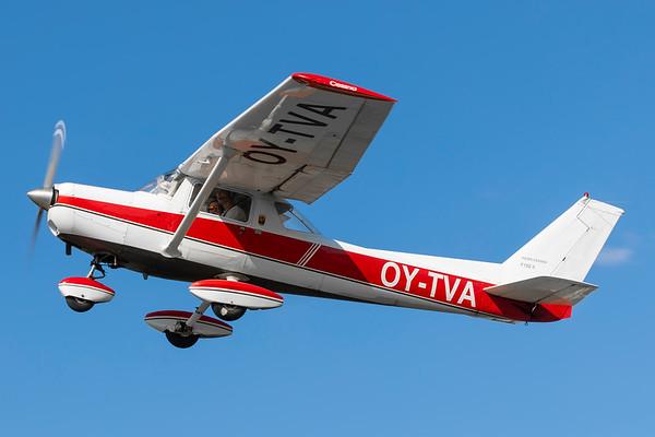 OY-TVA - Reims Cessna F152