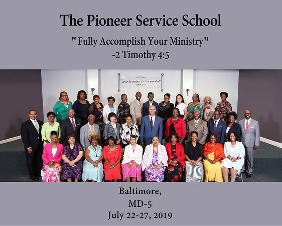 The Pioneer Service School