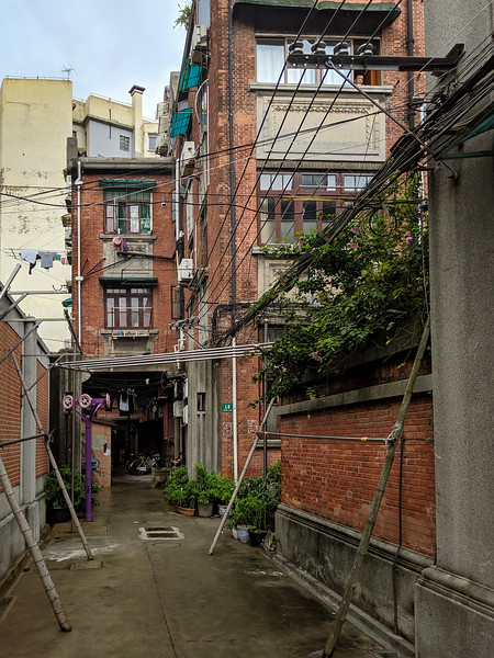 Interesting back alley.