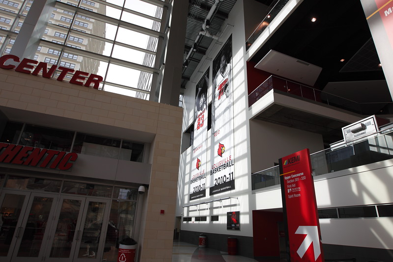 Entrance Banners, KFC Yum! Center