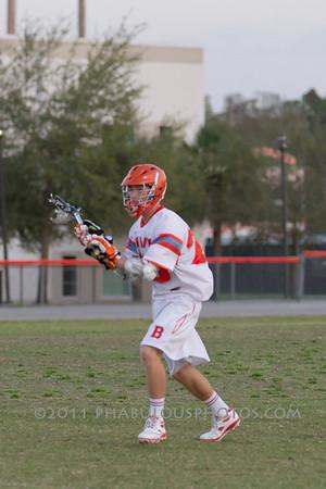Boone Varsity Lacrosse #25 - 2011