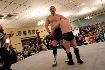 NCW Tag Team Championship Gauntlet Match Little Giants vs. Cross Fit