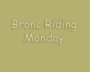 WOS 2018 Bronc Riding Monday