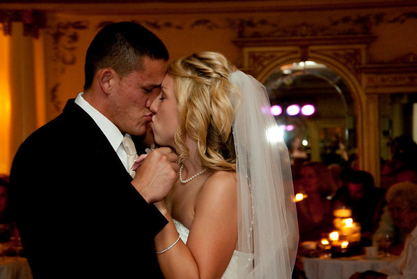 Becca and Chris at the Grand Island Mansion