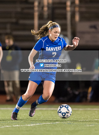 11/14/2016 - Girls Varsity Soccer - MIAA D2 North Final - Danvers vs Arlington