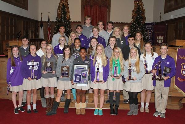 Fall Sports Assembly 8 Dec 2014