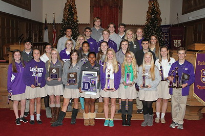 Fall Sports Assembly 8 Dec 2014