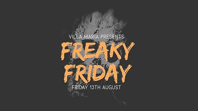 13.08 Villa Maria's Freaky Friday Staff Party
