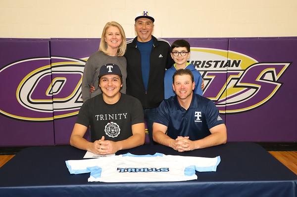 Signing Day Baseball Michael Moralez KCHS 4/10/19