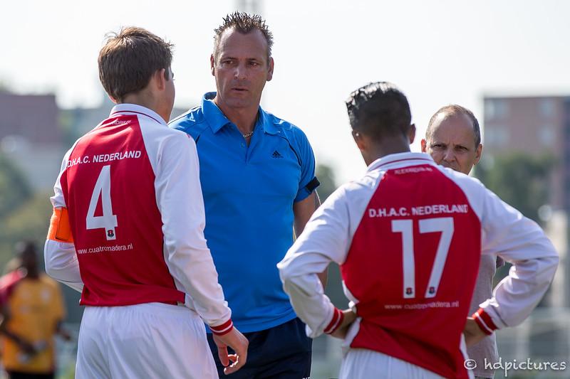 20-09-2016: Voetbal: NOC Kralingen O19-1 v A'66-O19-2 Rotterdam Seizoen 2016/2017