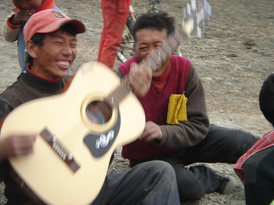 On the DL (Tibet, Nepal)