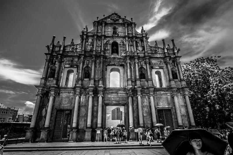 The marvelous Sao Paulo Ruins.