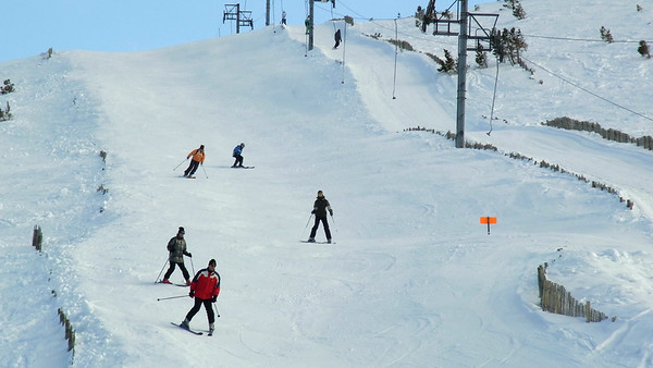 Snowboarden and Walk in the CairnGorm Mountains