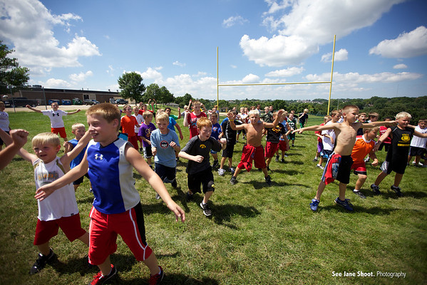 Hempstead Mustang Football ElementaryCamp
