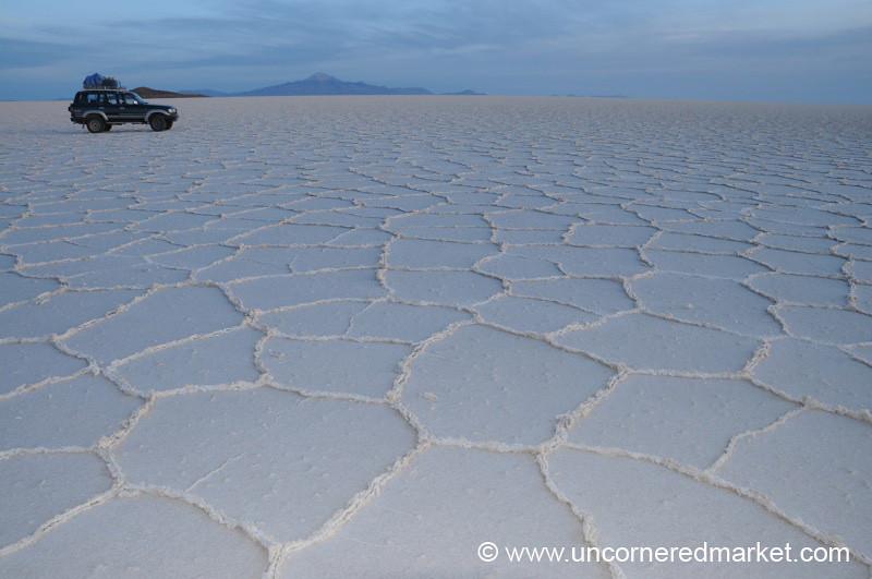 Salt Desert Horizon - Salar de Uyuni, Bolivia