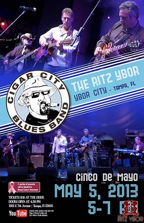 Cigar City Blues Band May 5, 2013