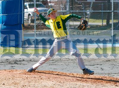 Sullivan West vs Eldred Baseball