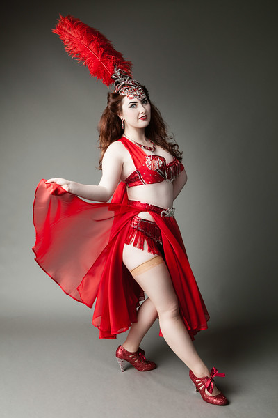 Miss Burlesque Ireland 2015 - Sarah Redmond