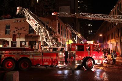 Boston, MA - 3rd Alarm, 65 Chatham Street, 12-24-09