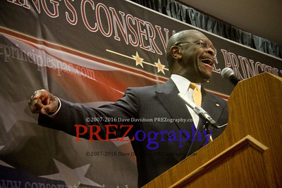 Herman Cain at Steve King Conference