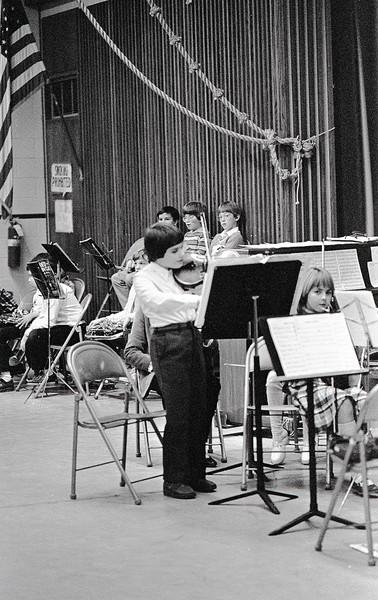 David's First Concert