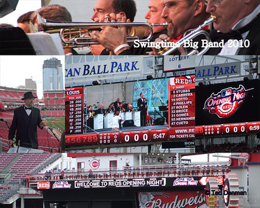 Swingtime Big Band at Red's Opening Night