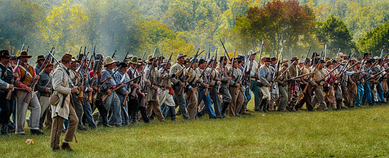 Civil War Battle of Pilot Knob, Missouri