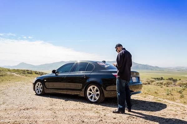 Cali Fosho stickers & Trip with car