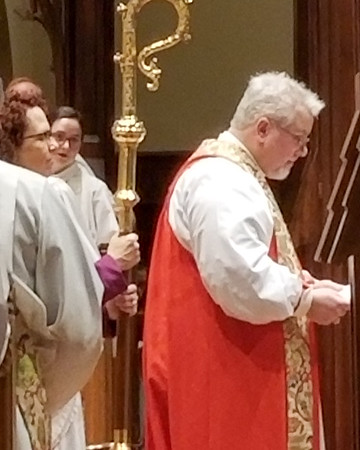 Elizabeth Woodson's  Deacon Ceremony