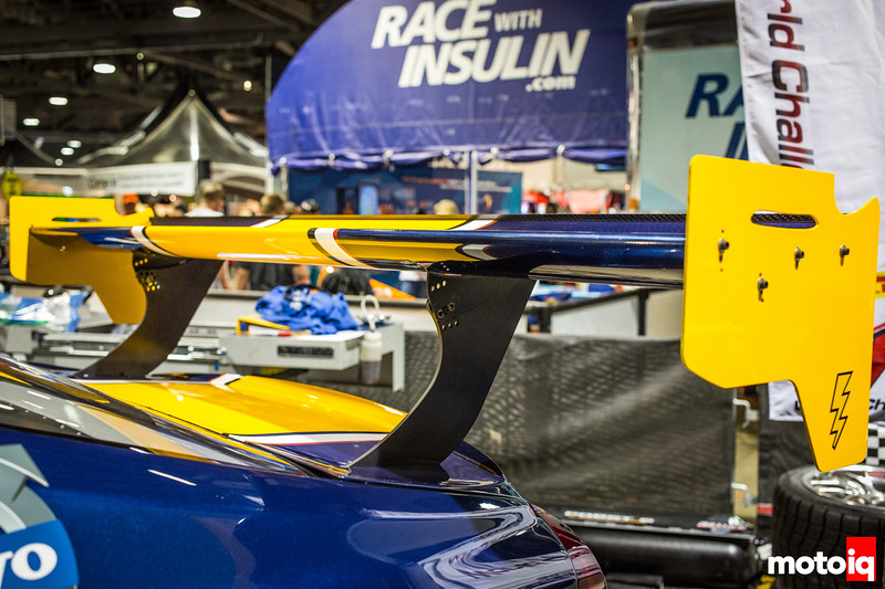 Nerd's Eye View: K-PAX Racing Volvo S60 rear wing