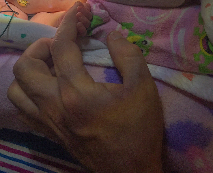 Obligatory finger hand shot