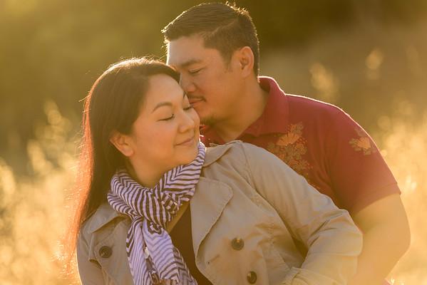 Cherylynn and Brian (Engagement Photography) @ Pichetti Ranch, Cupertino, California