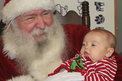 Howe Community Library Christmas with Santa, 12/8/2018