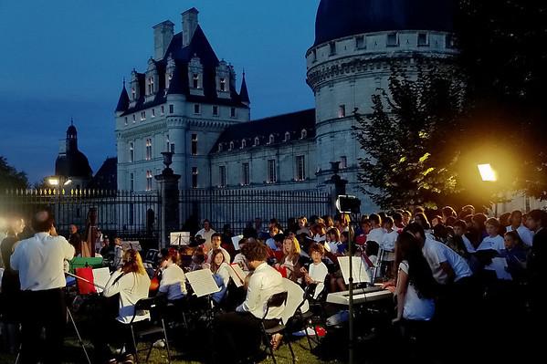 La chorale - Soirée aux chandelles 24 juillet 2010