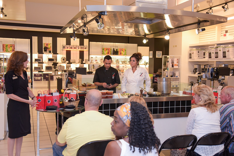 Zuccarelli's Cooking Demo
