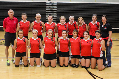 20120825 Rocket Freshmen at Andover Central Tournament