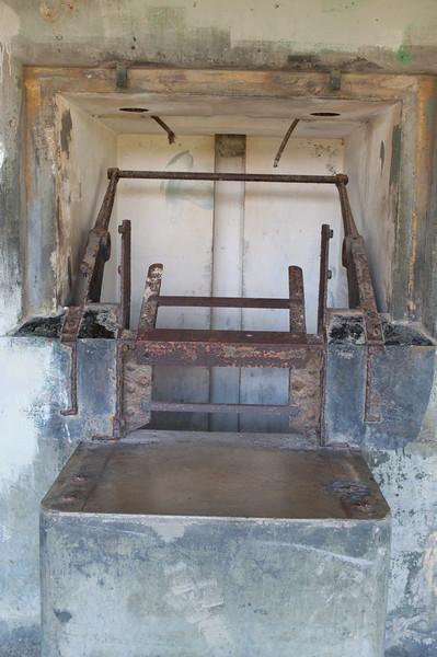 Ammunition machinery.