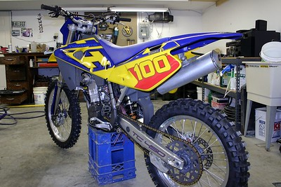 June 10th 2005, New 2004 Husky  TC 450
