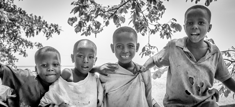 Local kids in Freetown, Sierra Leone