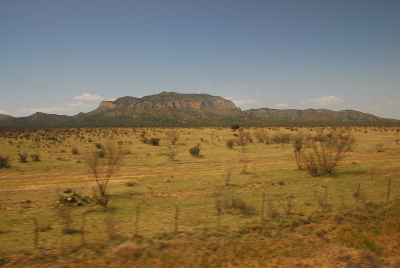 View from the Amtrak trip in California