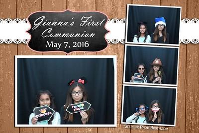 Gianna's First Communion