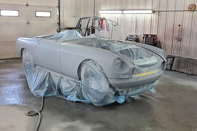 1972 MGB Restoration