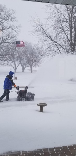 April snowstorm 2018