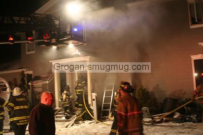 Green Pl House Fire 2/6/10