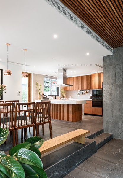 River Park Villa Interior Design by Architect Trần Hữu Thọ