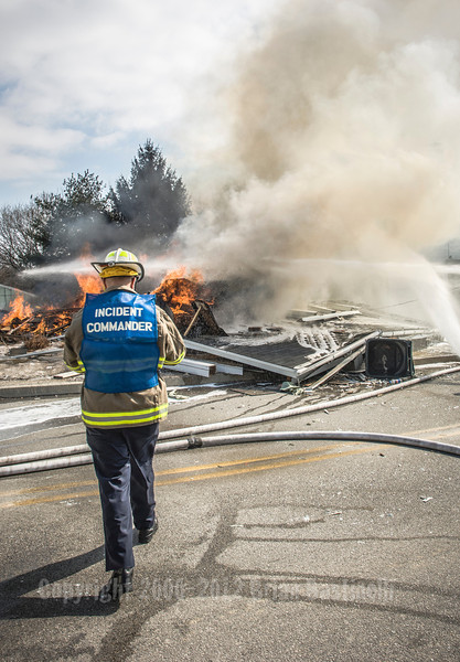 28FEB07 York Twp. 3rd Alarm Gas Explosion