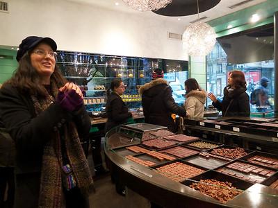 Paris 2013-01-10 Chocolate Tour and Evening Views